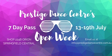 Prestige Dance Centre's Open Week tickets