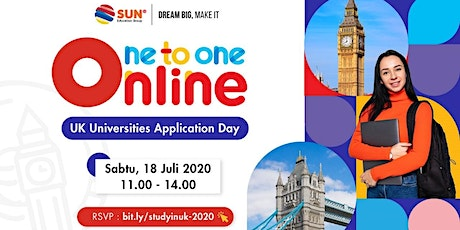 One to one online - UK Universities Application Day tickets