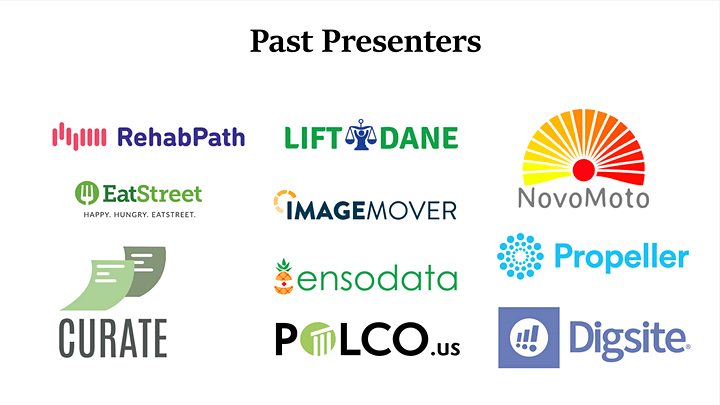 Startup Showcase at Forward Fest August 2020 image