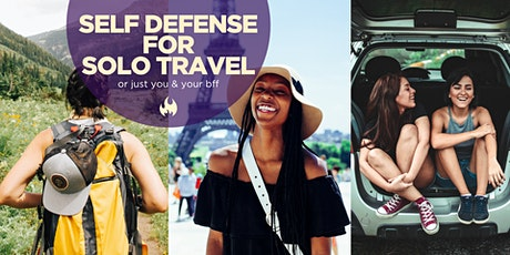 Self Defense for Solo Travel tickets