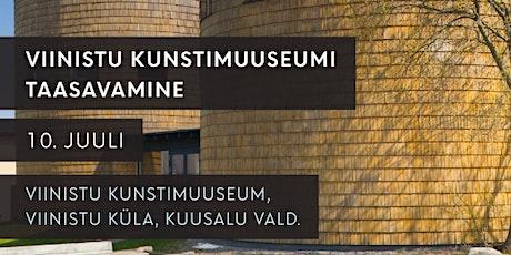 Viinistu Kunstimuuseumi taasavamine: Transport Tallinn-Viinistu-Tallinn tickets