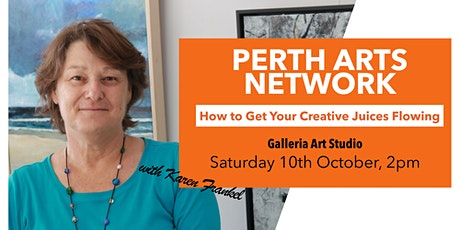 How to Get Your Creative Juices Flowing tickets