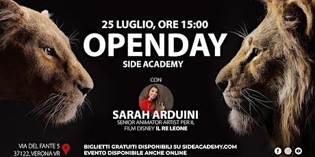 Side Academy Openday 25 Luglio ore 15:00 tickets