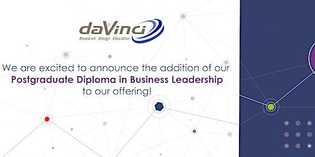 Hear more about the Da Vinci Postgraduate Diploma! tickets