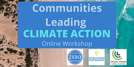 Communities Leading Climate Action tickets