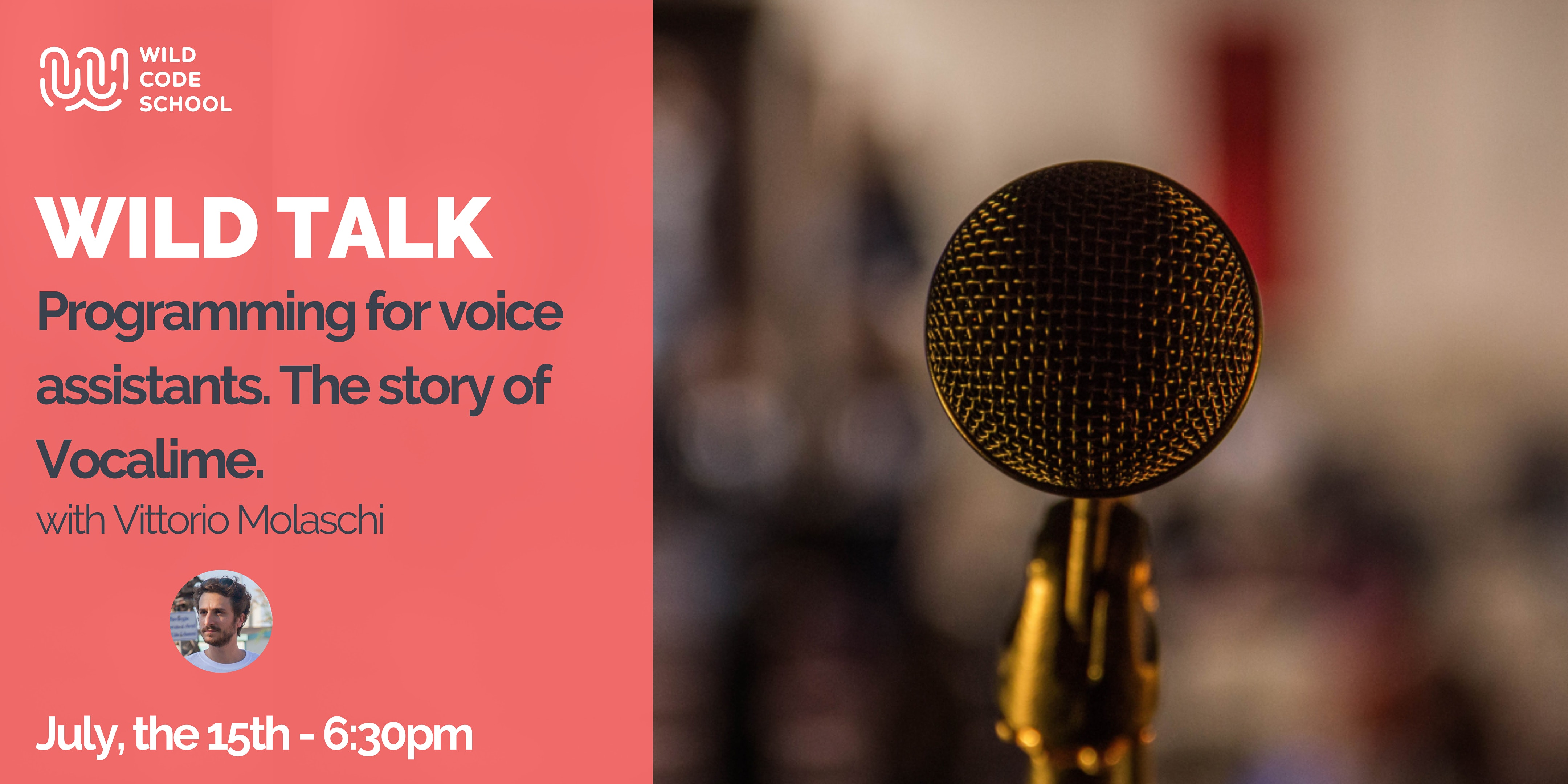 Wild Talk - Programming for voice assistants. The story of Vocalime.