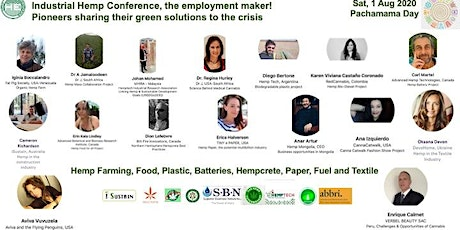 Industrial Hemp Conference, the employment maker! tickets