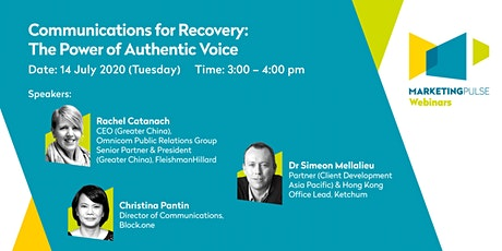 Communications for Recovery: The Power of of Authentic Voice ingressos