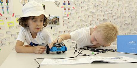 Robotics: Einen Roboter zusammenbauen und kreativ programmieren Tickets