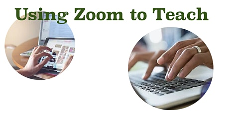 Using Zoom to teach or train people tickets
