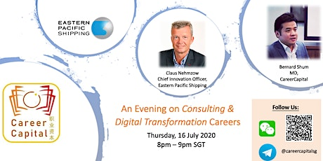 An Evening on Consulting and Digital Transformation Careers tickets