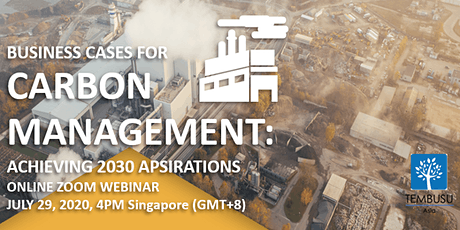 Webinar on Business Cases for Carbon Management tickets