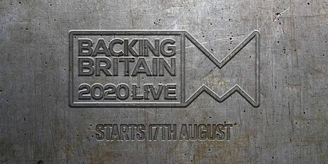Backing Britain Live 2020 tickets