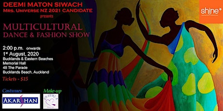 Multicultural Dance and Fashion Show tickets