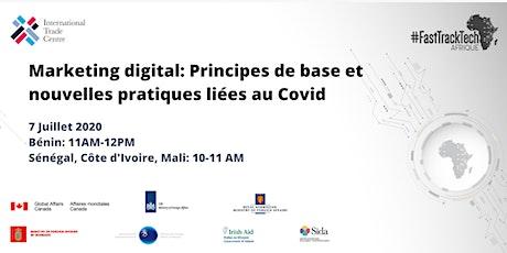 Marketing digital: Principes de base et nouvelles pratiques liées au Covid tickets