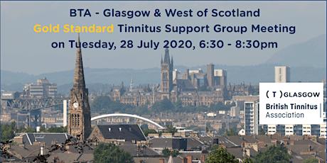 BTA – Glasgow & West of Scotland Tinnitus Support Group (28/07/2020) tickets