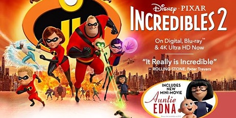 Incredibles 2 (2018) (PG) tickets