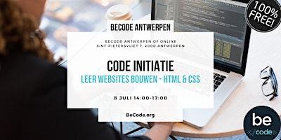 HTML & CSS Workshop – BeCode Antwerpen
