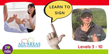ONLINE - Key Word Signing Level 3 (General Course for Beginners) tickets