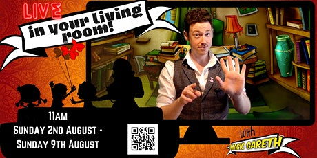 'LIVE in your Living Room with Magic Gareth' - 11am, Saturday 8th August tickets