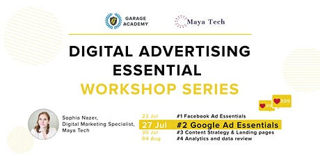 #2 Google Ads Essentials - Digital Advertising Essential Workshop Series tickets