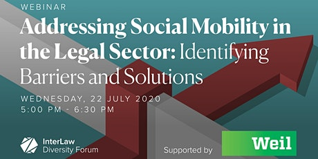 Addressing Social Mobility in the Legal Sector: Identifying Barriers and So tickets