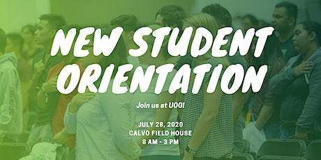 UOG New Student Orientation tickets