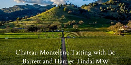 Chateau Montelena with Bo Barrett. A talk and tasting on Zoom. tickets