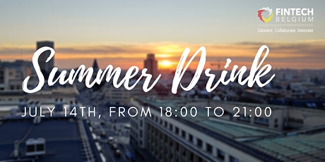 Fintech Belgium Summer Drink tickets