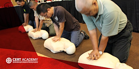 First Aid, CPR and AED online training tickets