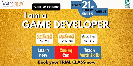 Free online coding class for kids (Age  6 to 15) tickets