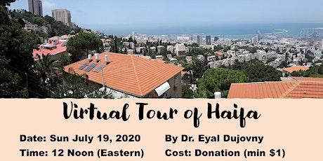 Virtual Tour of Haifa Israel tickets