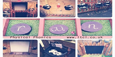 Systematic Synthetic Phonics: Phase 1 -  5 (approx 2.5 hours over 2 days) tickets