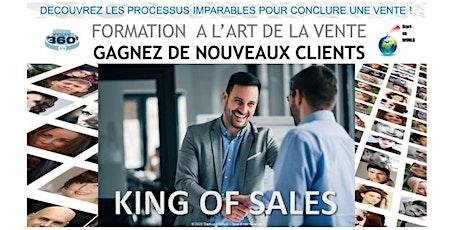 King of Sales - Formation aux processus imparables pour conclure une vente billets