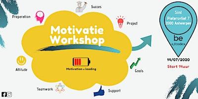 Motivatie Workshop BeCode Antwerpen