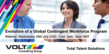 The Evolution of a Global Contingent Workforce Program tickets