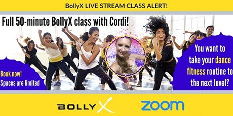 BollyX - The Bollywood Workout with Cordi -  FREE TRIAL CLASS tickets