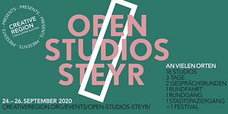 OPEN STUDIOS STEYR present: STADTSPAZIERGANG 26.09. Tickets