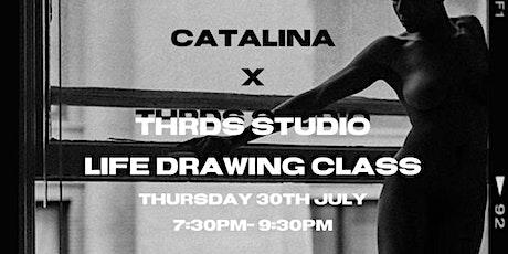 CATALINA X THRDS STUDIO LIFE DRAWING tickets