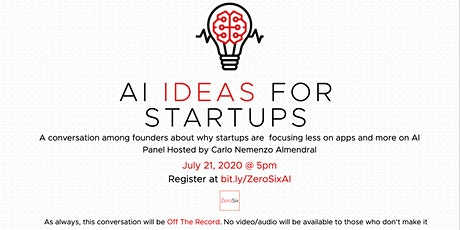AI Ideas for Startups tickets