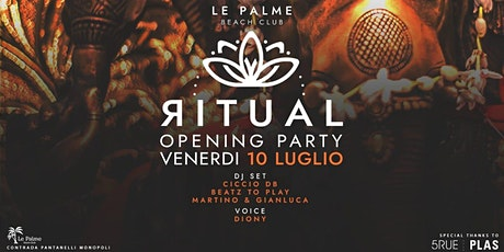 Friday 10.07 • RITUAL ~ Ethnic vibes | Le Palme Beach tickets
