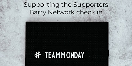 Supporting the Supporters Barry Check in tickets