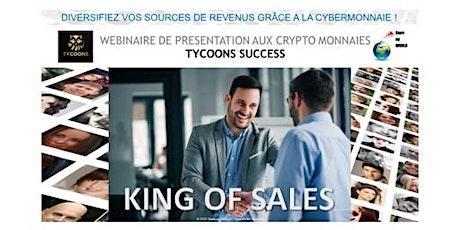 Webinaire de présentation aux crypto monnaies billets