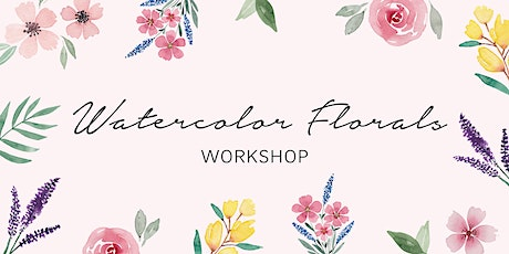 Workshop: Watercolor Florals Tickets