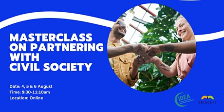 Bridge 47 Masterclass on Partnering with Civil Society Tickets