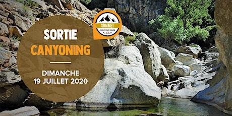 CANYONING AU PONT DU DIABLE | Massif des Bauges | 19 JUILLET billets