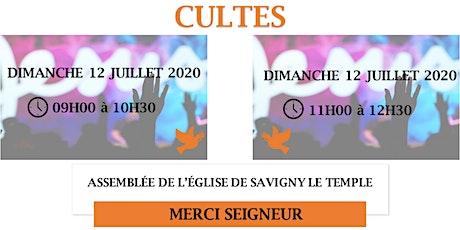 (SAVIGNY) CULTE ANTENNE DE LA METROPOLE MERCI SEIGNEUR billets