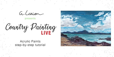 Country Painting LIVE - Acrylic Painting Tutorial  - Impression of Fife tickets