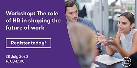The Role of HR in Shaping The Future of Work - Grant Thornton tickets