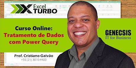 Excel Turbo - Tratamento de Dados com Power Query ingressos